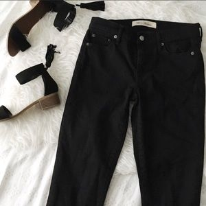 Gap Black Straight Leg Jeans